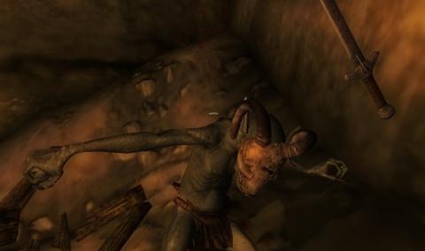 Skyrim Vicious combat
