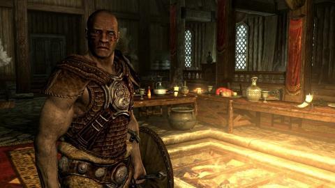 Skyrim скриншот - Нордский войн