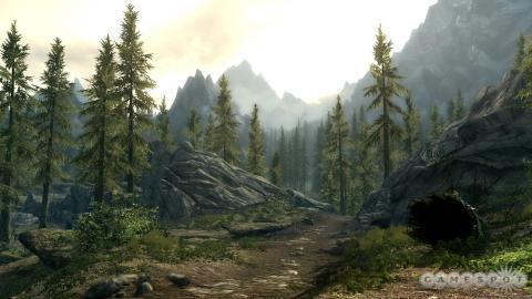 Добро пожаловать в леса Скайрима