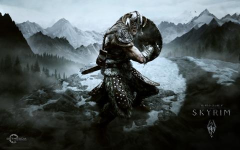 Skyrim wallpapper for E3