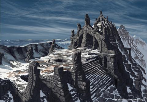 Skyrim Art - Nordic Ruins