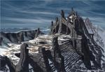 Skyrim Art - Nordic temple ruins